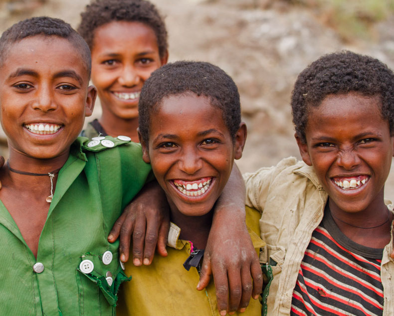 Friends in Ethiopia